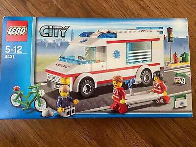Lego City Ambulance - 4431 Complete Boxed Set With Instructions • 16£