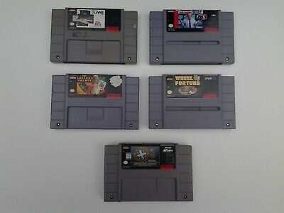 $ CDN1.31 • Buy Super Nintendo Games Lot SNES