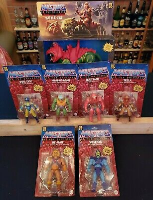 $134.50 • Buy *Unpunched* NEW He Man Origins Retro MASTERS OF THE UNIVERSE 2020 Wave 1 Lot