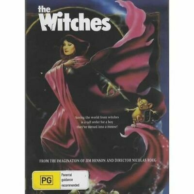 AU9.95 • Buy  The Witches DVD Angelica Huston Brand New And Sealed Australia