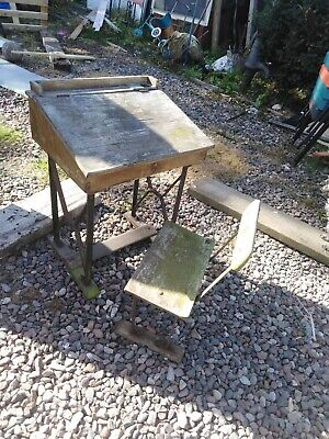 School Desk  And Chair For Restore 100 Year Old • 40£