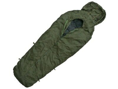 Army Sleeping Bag Cover Bivi Bag Compression Sack Italian Military Surplus • 29.99£