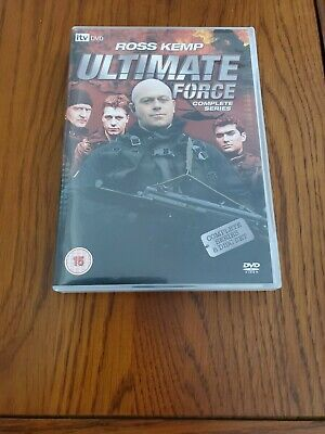 £8.95 • Buy Ultimate Force: The Complete Series 1-4 Collection - Ross Kemp - 8x DVD BOX SET