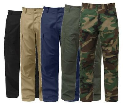 $27.95 • Buy Military Bdu Cargo Pants Tactical 6 Pocket Emt Police Fatigue Trousers