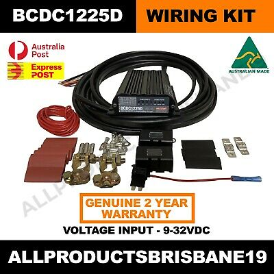 AU620 • Buy BCDC1225D Redarc BCDC Charger And Wiring Kit - Package Deal Save $$ Express Ship