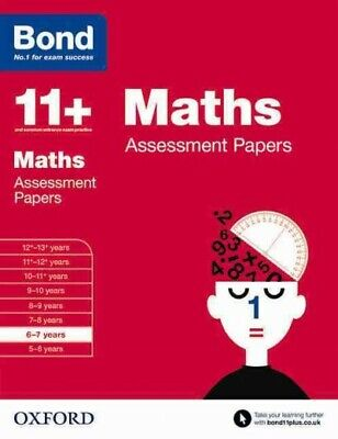 AU17.70 • Buy Bond 11+: Maths: Assessment Papers : 6-7 Years, Paperback By Frobisher, Len; ...