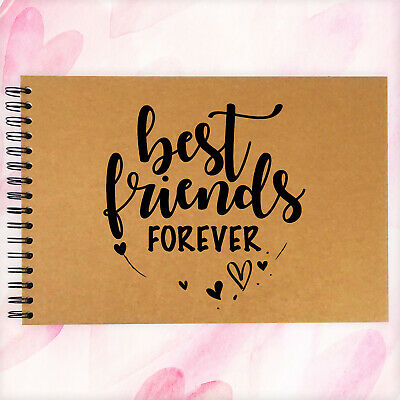 A3/A4/A5, Best Friends Forever BFF Scrapbook, Guestbook, Photo Album, Card Pages • 6.99£
