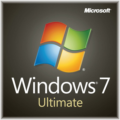 Microsoft Windows 7 Ultimate Coa + Full Genuine Install Product Oem License • 47.49£