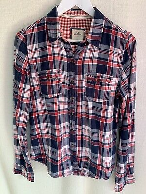 Womens HOLISTER CHECKED SHIRT SIZE L  • 8£