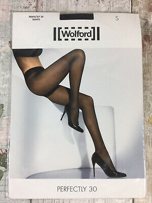 Wolford Perfectly 30 Tights Black Small New In Pack  • 5.19£