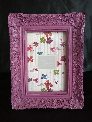 Beautiful Ornate Sicura Photo Frame Rococo Corners/floral Pattern Uk Sell Only • 8.50£