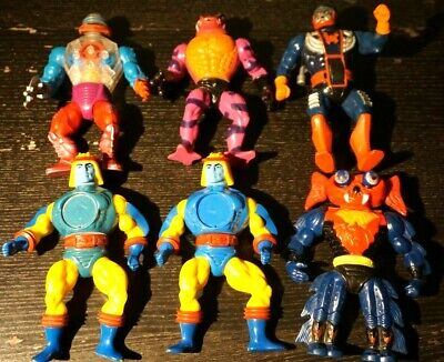 $59.95 • Buy Vintage He Man Masters Of The Universe Action Figure Lot Of 6 MOTU 1980s