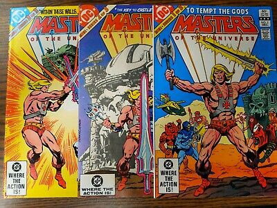 $65 • Buy He Man And The Masters Of The Universe Lot #1-3