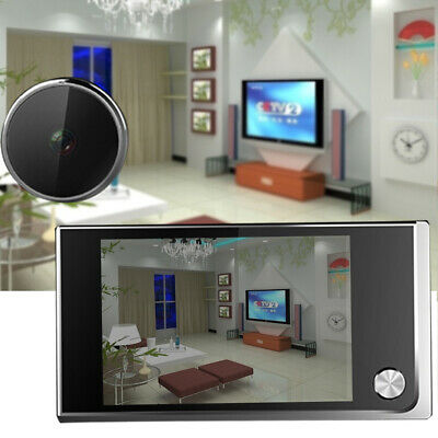 LCD Smart 120° Peephole Viewer Door Eye Night Vision Camera DoorBell 3.5  • 25.95£