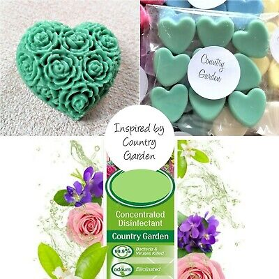 Soy Wax Melts - Zoflora Country Garden - Highly Scented - Free Shipping • 2.29£