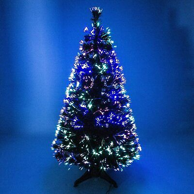 Christmas Tree Fibre Optic Colour Changing 150 CM (5ft) Free Standing Decoration • 48.99£
