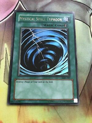 MRL-047 Yugioh - Mystical Space Typhoon Ultra Rare Played SEE PICS • 10.50£
