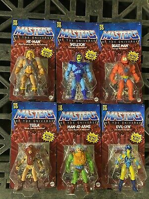 $145.99 • Buy Masters Of The Universe Lot Of 6 New Classics Mattell New For 20