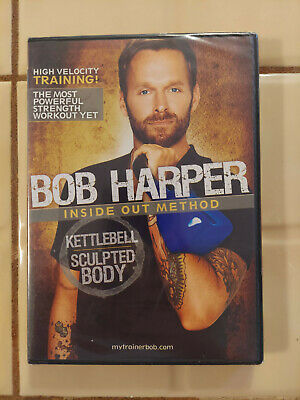 Bob Harper Kettlebell Sculpted Body Inside Out Method Train Workout DVD - NEW D1 • 8.48£