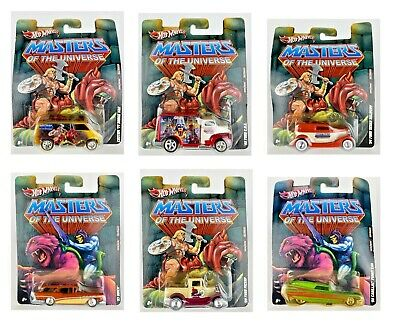 $7.95 • Buy Hot Wheels Masters Of The Universe 2012 Pop Culture - Cards Not In Great Shape