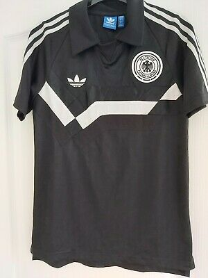 Germany National Football Team Retro Style Shirt Adidas Size Small Mens. • 15£