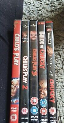 Childs Play Dvd Collection • 7.50£