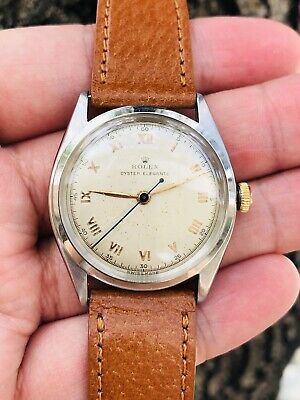 $ CDN3340.74 • Buy Rolex Oyster Elegante Vintage Ref. 4365 Roman Numeral Chapter Ring Dial Watch!!!