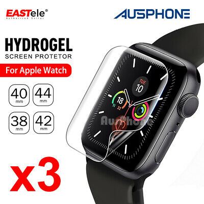 AU7.45 • Buy For Apple Watch IWatch Series 2 3 4 5 6 SE 38/40/42/44mm Full Screen Protector