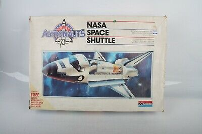 1986 #5904 Monogram Astronauts NASA Space Shuttle 1:72 Scale Vintage • 24.99£