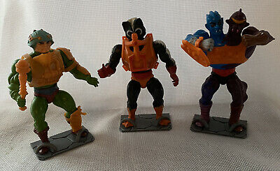 $9.95 • Buy MOTU Masters Of The Universe Figure Stands Lot Of 5 Gray