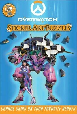 AU42.01 • Buy Overwatch Sticker Art Puzzles, Paperback By Squier, Moira, Like New Used, Fre...