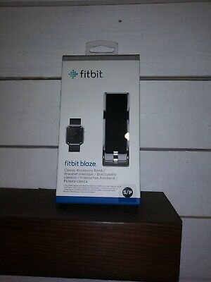 $ CDN6.58 • Buy Fitbit Blaze Black ACCESSORY BAND  S/P Small - NEW In Box