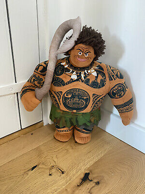 Maui From Moana Soft Plush Disney Toy. Large 16 Inch Doll. New Without Tags. • 15£