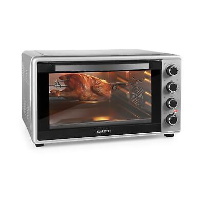 REFURB. Oven Electric Kitchen Grill Compact Mini Spit Roast Counter 60L 2000W • 156.99£