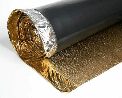 Royale Sonic Gold 5mm Comfort Underlay For Laminate Or Wood Flooring - 1 Roll  • 20£