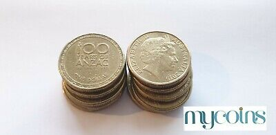 AU3.75 • Buy 2015 100 Years Of ANZAC One Dollar $1 Coin - Circulated - Low Mintage X 1