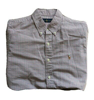 Men's Ralph Lauren Gingham Style Shirt Size Large • 19.99£