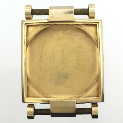 $ CDN33.27 • Buy Vintage Longines Wittnauer Watch Case Yellow 10K Gold Filled, Screw Lugs, Square
