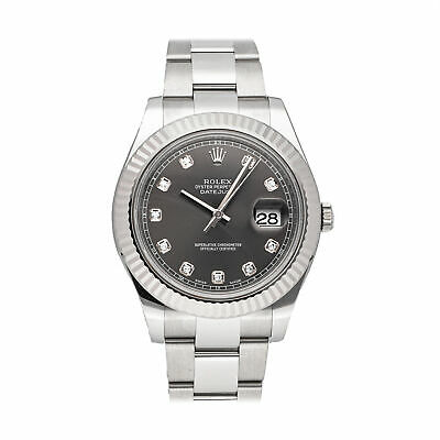 $ CDN13934.02 • Buy  Rolex Datejust II Auto 41mm Steel White Gold Mens Oyster Bracelet Watch 116334