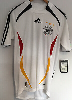 Germany 2005-2006 Adidas Home Football Shirt Uk Size Small Mens • 0.99£