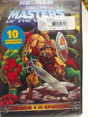 $8.80 • Buy He-Man And The Masters Of The Universe: Origins (DVD, 2009)  New Factory Sealed
