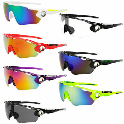 Outdoor UV Protection Sunglasses Sports Bicycle Running Glasses For Men Women • 4.55£