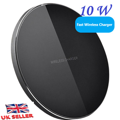 $ CDN10.37 • Buy QI Fast Wireless Charger Charging Pad For Samsung Note 9 8 Galaxy S10 S9 S8 Plus