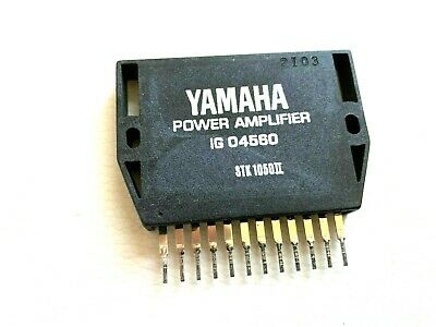 AU28.48 • Buy IG04560 Power Amplifier + Heat Sink Compound Original YAMAHA LOT OF