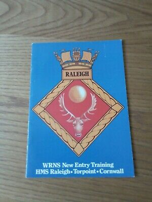 WRNS New Entry Training Manual HMS Raleigh, Booklet • 2.50£