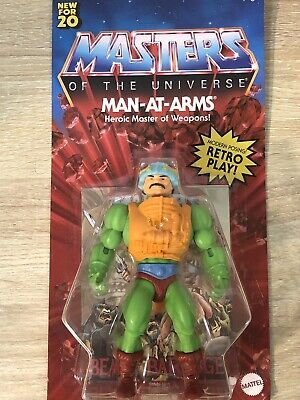 $30 • Buy MASTERS OF THE UNIVERSE HE-MAN ORIGINS MAN-AT-ARMS MOTU RETRO PLAY Unpunched