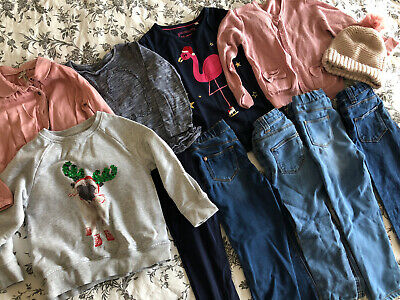 Girls Clothing Bundle Age 3-4 Next Blue Zoo Primark  • 2£