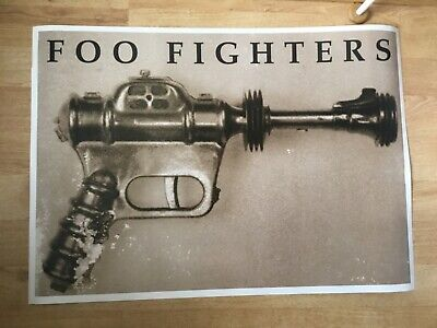 Original Capitol Records Foo Fighters Promo Poster 1995 Rare Mint Dave Grohl • 29.99£
