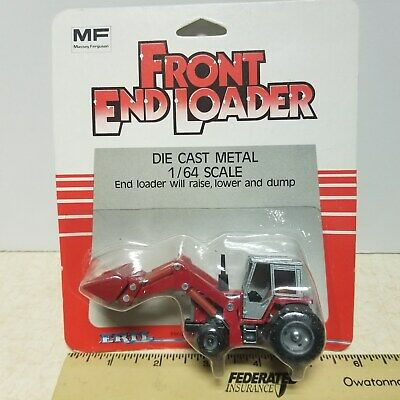 AU16.56 • Buy Toy Ertl Massey Ferguson Tractor With Front End Loader