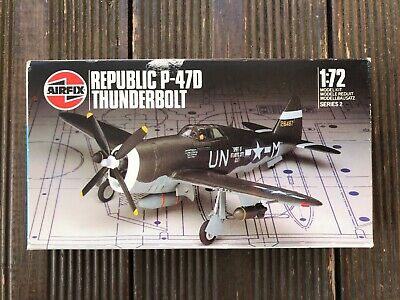 Airfix Republic P47-D Thunderbolt 1/72nd Scale Model Kit In Box. Rare.  • 13.75£